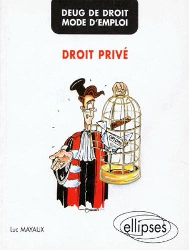 Luc Mayaux - DEUG de droit, mode d'emploi - Droit privé.