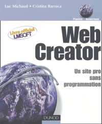 Luc Michaud et Cristina Barroca - Web Creator - Un site Web pro sans programmation.