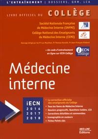 Luc Mouthon et Thomas Hanslik - Médecine interne.