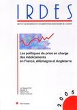 Luc Nguyen-Kim et Zeynep Or - Les politiques de prise en charge des médicaments en France, Allemagne et Angleterre.