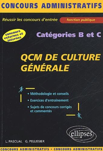 Luc Pascual - QCM de culture générale. - Catégorie B et C.