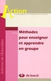 Luc Peeters - Méthodes pour enseigner et apprendre en groupe.