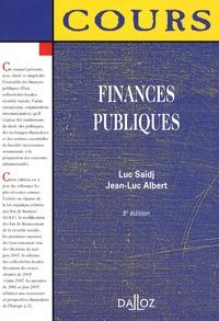 Luc Saïdj - Finances publiques - Edition 2007.