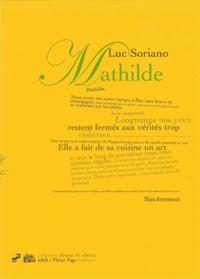 Luc Soriano - Mathilde.
