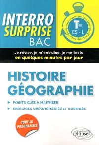 Luc Thyss et Sylvain Dépit - Histoire-Géographie Tles ES-L.