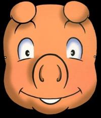 Luc Turlan - Coloriages Crapoto le cochon.