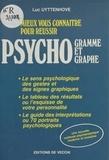 Luc Uyttenhove - Mieux vous connaître pour réussir psychogramme et psychographie.