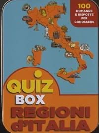 Luca Bertele - Quiz Box - Regioni D'Italia - 100 domande e risposte per conoscere.
