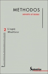 Luca Bianchi et Laurent Clauzade - Methodos N° 2 / 2002 : L'esprit Mind/Geist.