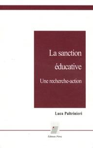 Luca Paltrinieri - La sanction éducative - Une recherche-action.