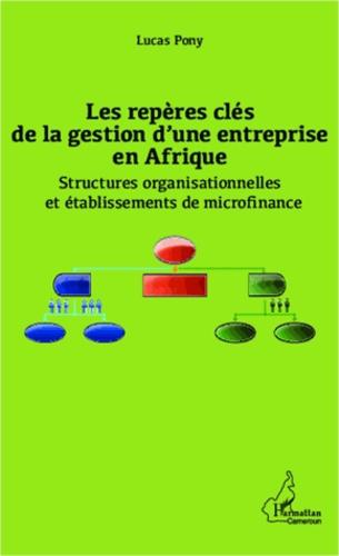 Lucas Pony - Les repères clés de la gestion d'une entreprise en Afrique - Structures organisationnelles et établissements de microfinance.