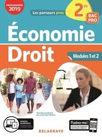 Lucas Sanz Ramos - Economie droit 2de Bac pro - Pochette élève.