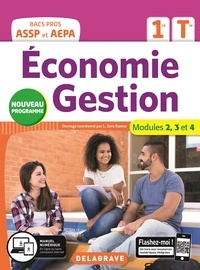 Lucas Sanz Ramos - Economie Gestion 1re, Tle Bac pros ASSP et AEPA - Modules 2, 3 et 4.