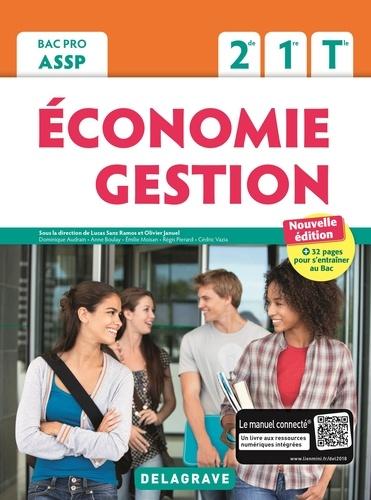 Lucas Sanz Ramos et Olivier Januel - Economie Gestion 2de, 1re, Tle Bac Pro ASSP - Pochette élève.