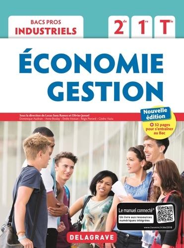 Economie Gestion 2de, 1re, Tle BAC Pros industriels. Pochette élève  Edition 2018