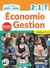 Lucas Sanz Ramos - Economie Gestion 2de 1re Tle Bacs Pros ASSP et AEPA - Modules 1 à 4.