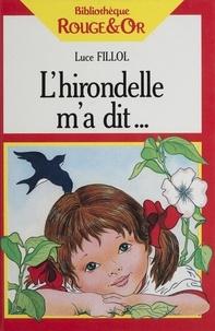 Luce Fillol - L'Hirondelle m'a dit.