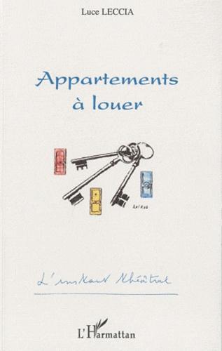 Luce Leccia - Appartements à louer.
