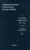 Luce Pietri et Marc Heijmans - Prosopographie chrétienne du Bas-Empire - Tome 4, Prosopographie de la Gaule chrétienne (314-614) 2 volumes.