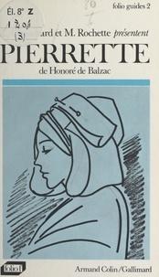 Lucette Chambard et Marguerite Rochette - Pierrette, de Honoré de Balzac.
