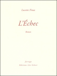 Lucette Finas - L'Echec.
