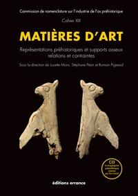 Lucette Mons et Stéphane Pean - Matières d'art - Représentations préhistoriques et supports osseux, relations et contraintes. 1 Cédérom