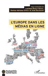 Luciana Radut-Gaghi et Denisa-Adriana Oprea - L'Europe dans les médias en ligne.