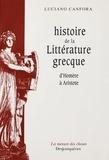 Luciano Canfora - Histoire de la littérature grecque - D'Homère à Aristote.