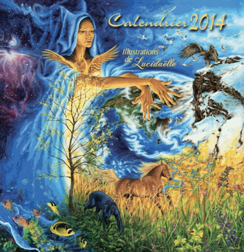 Lucidaëlle - Calendrier 2014 - Natura.