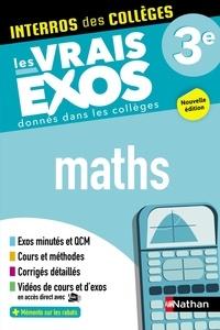 Lucie-Anne Billy et Axelle Bezard-Falgas - Mathématiques 3e.