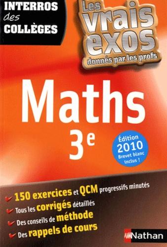 Lucie-Anne Billy - Maths 3e.