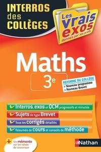 Lucie-Anne Billy et Stéphane Pasquet - Maths 3e.
