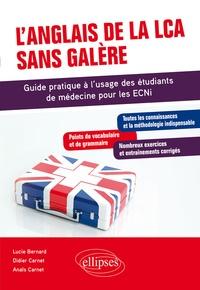 Alixetmika.fr L'anglais de la LCA sans galère - Guide pratique à l'usage des étudiants de médecine pour les ECNI Image
