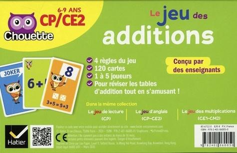 Le jeu des additions CP/CE2. 4 jeux pour s'entraîner en s'amusant ! Avec 120 cartes