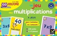 Lucie Domergue et Muriel Iribarne - Le jeu des multiplications CE1-CM2.