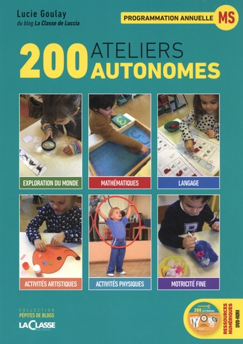 Lucie Goulay - 200 ateliers autonomes - Programmation annuelle MS. 1 DVD