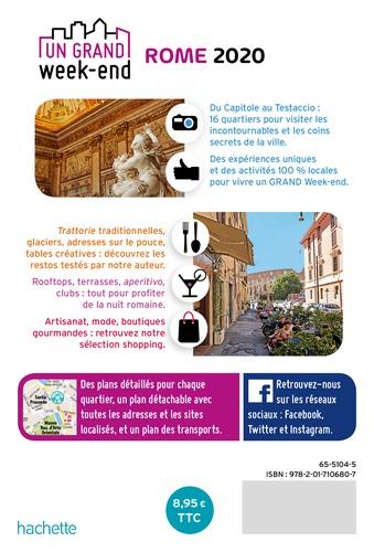Un grand week-end à Rome  Edition 2020 -  avec 1 Plan détachable