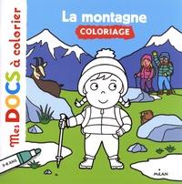 Lucie Voisin et Etsuko Watanabe - La montagne - Coloriage.