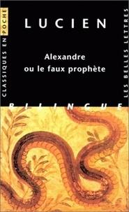 Deedr.fr Alexandre ou le faux prophète. Edition bilingue français-grec Image