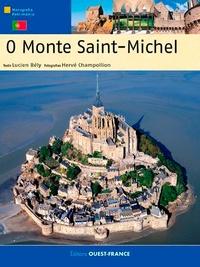 Lucien Bély et Hervé Champollion - O Monte Saint-Michel - Edition en portugais.