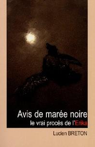 Lucien Breton - Avis de Marée Noire.