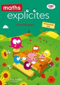 Lucien Castioni et Myriam Amiot Desfontaine - Maths Explicites CM1 - Guide pédagogique.