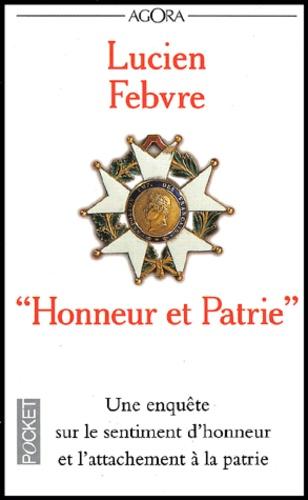 Pour La Patrie L Honneur Et Le Droit