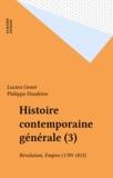 Lucien Genet - Révolution-Empire - 1789-1815.