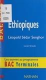 Lucien Giraudo et Henri Mitterand - Éthiopiques - Léopold Sédar Senghor.