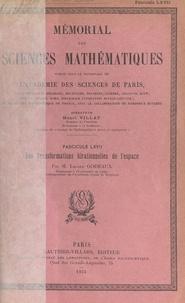 Lucien Godeaux et  Académie des sciences de Paris - Les transformations birationnelles de l'espace.