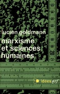 Lucien Goldmann - Marxisme et sciences humaines.