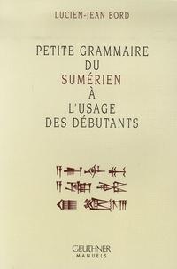 Petite grammaire du sumérien à lusage des débutants.pdf