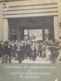 Lucien Santon - Cérémonies du cinquantenaire de l'Institut polytechnique de Grenoble - 8-13 Juillet 1950.