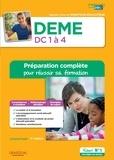 Lucienne Suissa - DEME Domaines de compétence 1 à 4 - Préparation complète pour réussir sa formation.